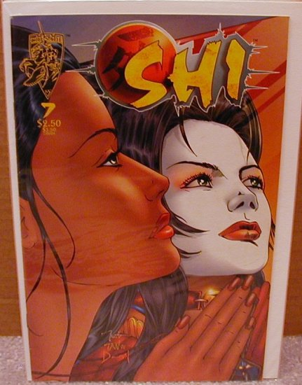 SHI THE SERIES #7 FINE-  CRUSADE COMICS