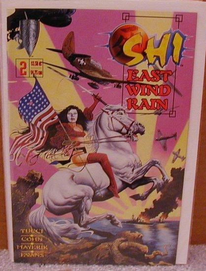 SHI EAST WIND RAIN #2 VF/NM CRUSADE COMICS