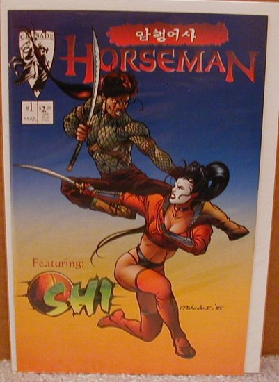 HORSEMAN #1 SHI X-O VF CRUSADE COMICS