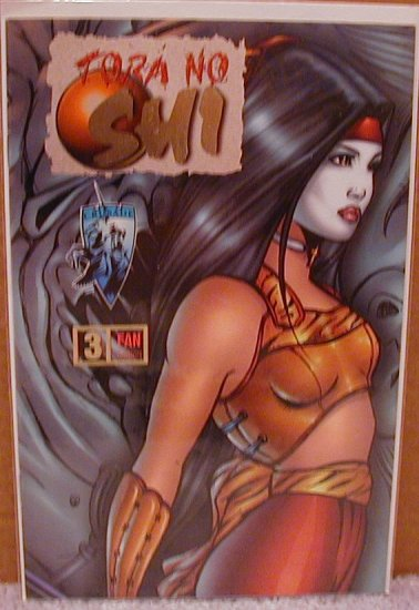 SHI FAN OVERSTREET FAN EDITION #3 VF/NM ( TORA NO)