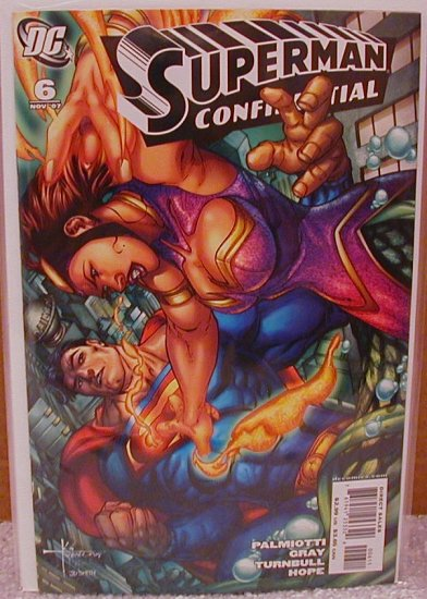 SUPERMAN CONFIDENTIAL #6 NM (2007)