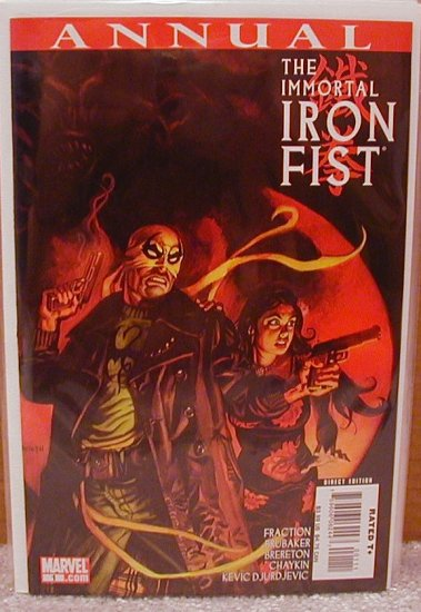 IMMORTAL IRON FIRST ANNUAL #1 (2007)