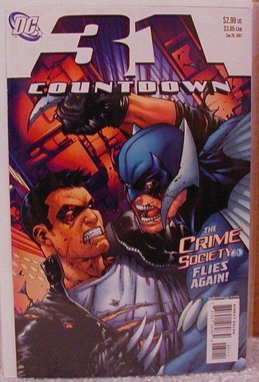 COUNTDOWN #31 NM (2007)