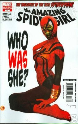 AMAZING SPIDER-GIRL #13 ZOMBIE VARIANT COVER  NM (2007)
