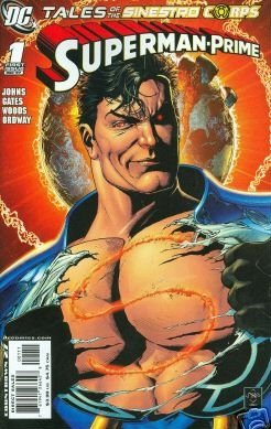 TALES OF THE SINESTRO CORPS SUPERMAN-PRIME NM (2007)