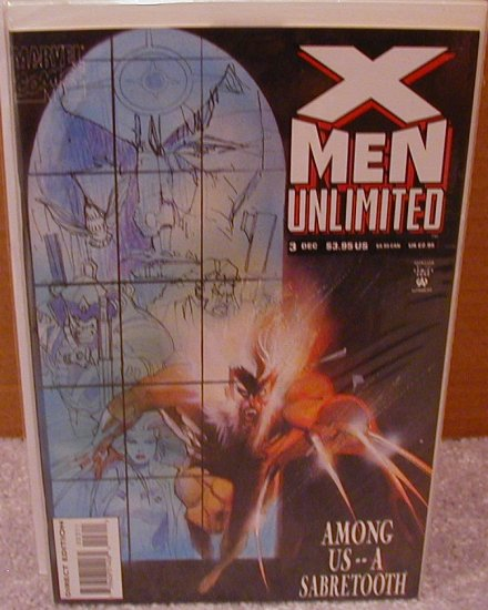 X-MEN UNLIMITED #3 VF OR BETTER