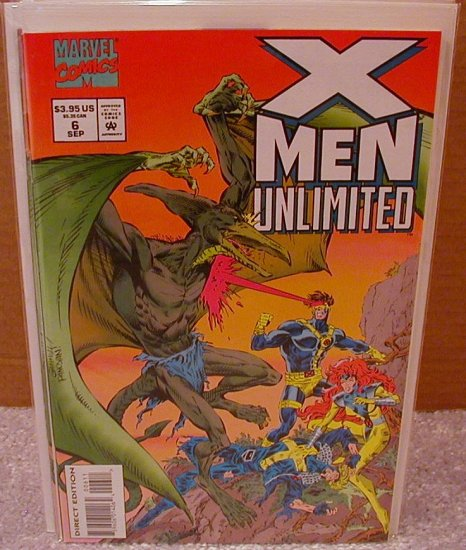 X-MEN UNLIMITED #6 VF OR BETTER