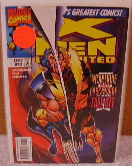 X-MEN UNLIMITED # 17 VF OR BETTER