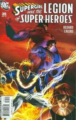 SUPERGIRL AND THE LEGION OF SUPER HEROES #35 NM (2007)