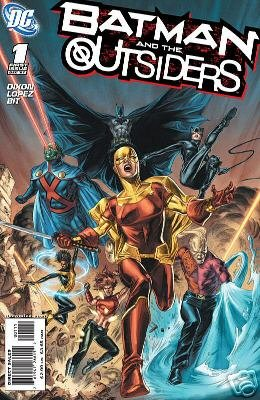 BATMAN AND THE OUTSIDERS #1 NM (2007)