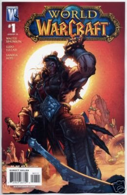 """WORLD OF WARCRAFT #1 NM (2007) COVER """"A"""""""