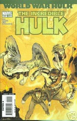 INCREDIBLE HULK #111 NM (2007)WORLD WAR HULK