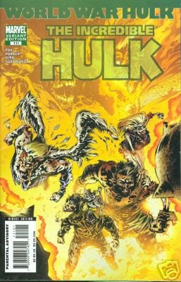 INCREDIBLE HULK #111 NM (2007)WORLD WAR HULK  1ST PRINT ZOMBIE COVER VARIANT