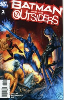 BATMAN AND THE OUTSIDERS #2 NM (2007)