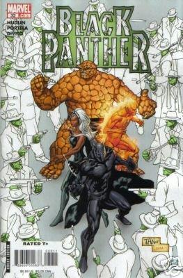 BLACK PANTHER #32 NM (2007)SKRULLS EVERYWHERE!!
