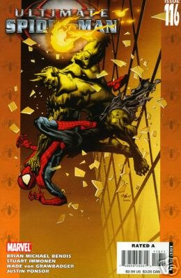 ULTIMATE SPIDER-MAN #116 NM (2008)