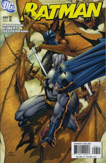 "BATMAN #656 NM  ""1ST FULL APPEARANCE- DAMIEN THE BATBRAT BATMANS SON"