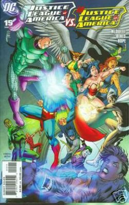 JUSTICE LEAGUE OF AMERICA #15 NM (2008)