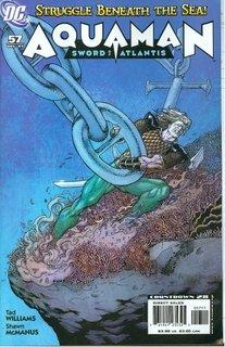 AQUAMAN SWORD OF ATLANTIS #56 NM (2007)