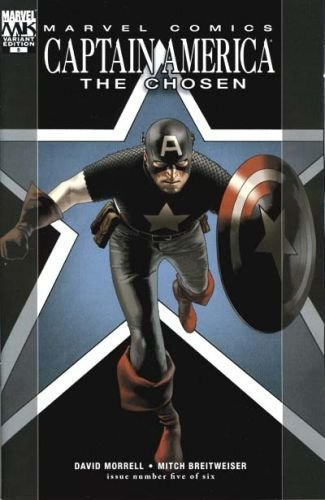 CAPTAIN AMERICA THE CHOSEN #5 NM (2008) 1ST PRINT VARIANT COVER