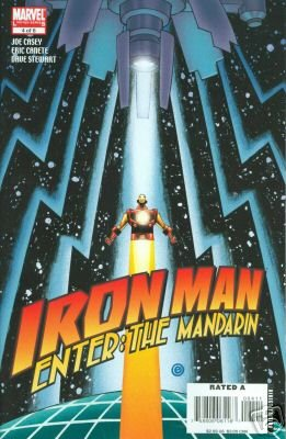 IRON MAN ENTER THE MANDARIN #4 NM (2008)