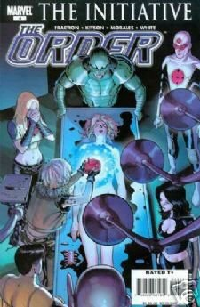 THE ORDER #4 NM (2007)