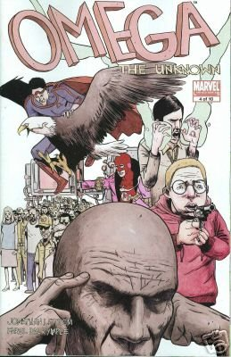 OMEGA THE UNKNOWN #4 NM (2008)