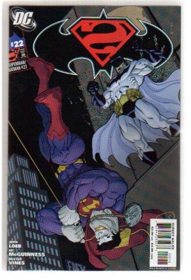 SUPERMAN BATMAN #22 VF/NM