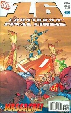 COUNTDOWN TO FINAL CRISIS #16 NM (2008)