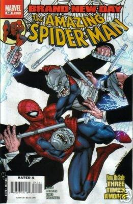 AMAZING SPIDER-MAN #547 NM (2008) BRAND NEW DAY