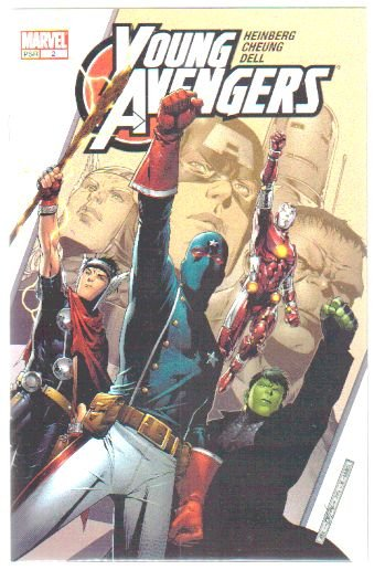 YOUNG AVENGERS #2 NM