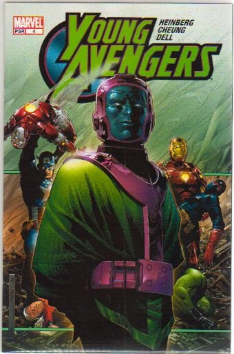 YOUNG AVENGERS #4 NM