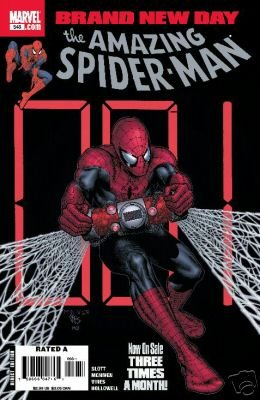 AMAZING SPIDER-MAN #548 NM (2008) BRAND NEW DAY