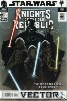 STAR WARS KNIGHTS OF THE OLD REPUBLIC #25 NM