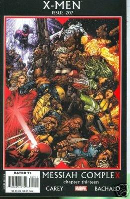 X-MEN #207 NM (2008)CHAPTER THIRTEEN MESSIAH COMPLEX