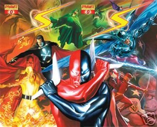 PROJECT SUPERPOWERS #0 BOTH COVERS ALEX ROSS NM (2008)