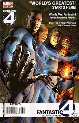 FANTASTIC FOUR #554 NM (2008)