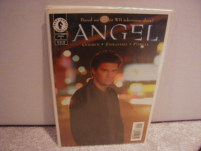 ANGEL #9 PHOTO COVER VF OR BETTER