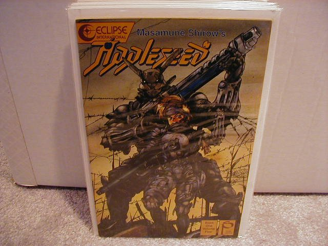 APPLESEED BOOK ONE #5  VF OR BETTER