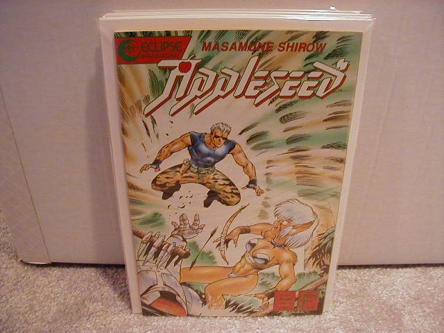 APPLESEED BOOK THREE #5  VF OR BETTER