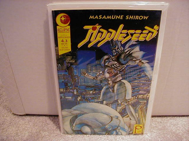 APPLESEED  #4.3  VF OR BETTER