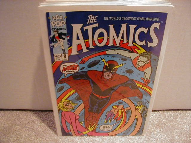 THE ATOMICS #8 F/VF OR BETTER