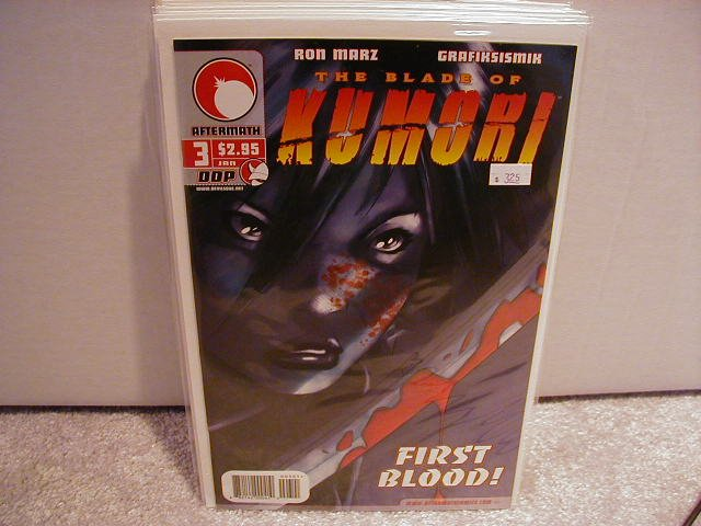 BLADE OF KUMORI #3 VF OR BETTER