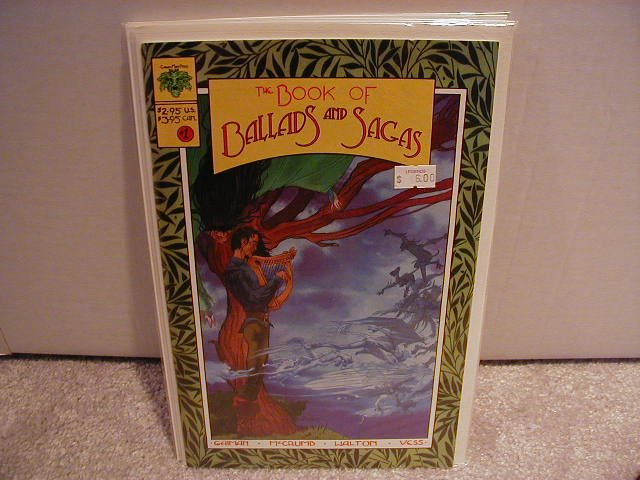 BOOK OF BALLADS AND SAGAS #1 VF OR BETTER