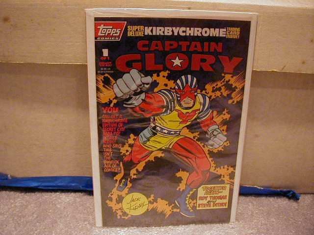 CAPTAIN GLORY #1 VF OR BETTER