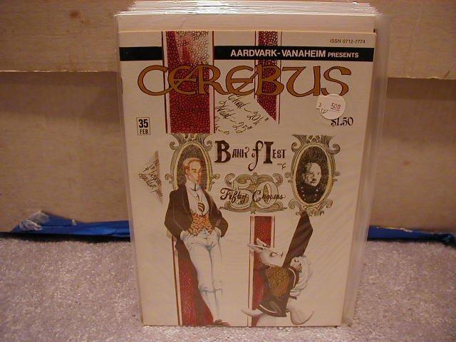 CEREBUS #35 VF OR BETTER