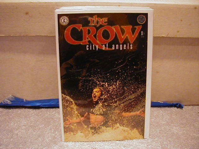 CROW: CITY OF ANGELS  #1 OF 3   KITCHEN SINK  VF OR BETTER