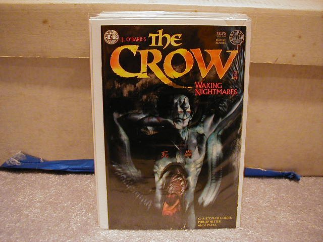 CROW: WAKING NIGHTMARES  #1 OF 3   KITCHEN SINK  VF OR BETTER