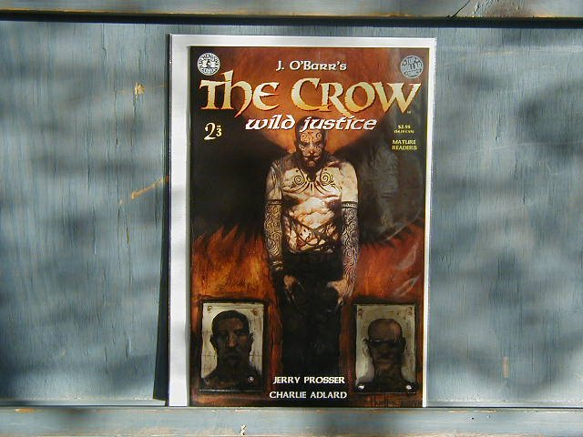 CROW: WILD JUSTICE #2 OF 3   KITCHEN SINK  VF OR BETTER