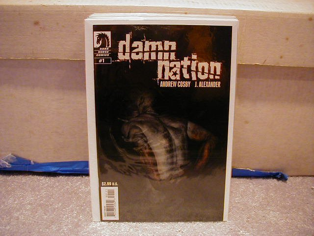 DAMN NATION #1 VF/NM  DARK HORSE
